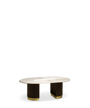 Aim Oval Coffee Table