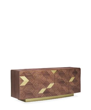 Avalon Gold Sideboard