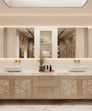 Dare Interiors - Blossom Bathroom